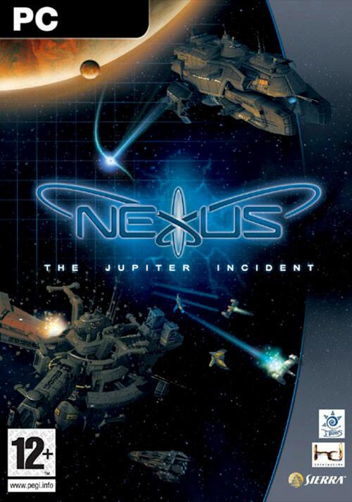 Nexus - The Jupiter Incident - Cover / Packshot