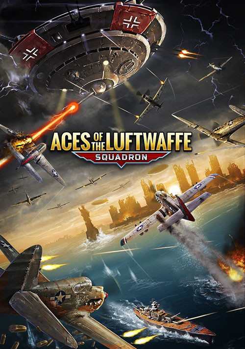 Aces of the Luftwaffe - Squadron - Cover / Packshot