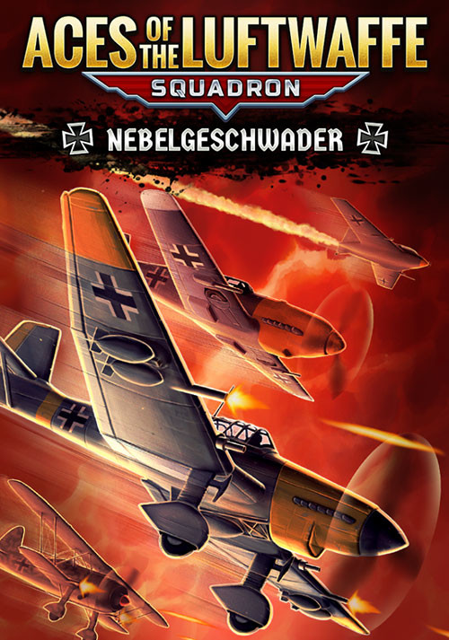 Aces of the Luftwaffe Squadron - Nebelgeschwader - Cover