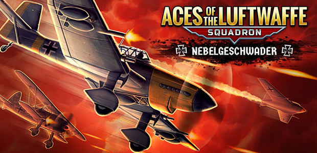 Aces of the Luftwaffe Squadron - Nebelgeschwader - Cover / Packshot