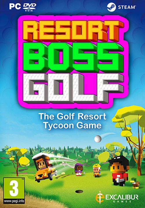 Resort Boss: Golf | Tycoon Management Golf Game - Cover / Packshot