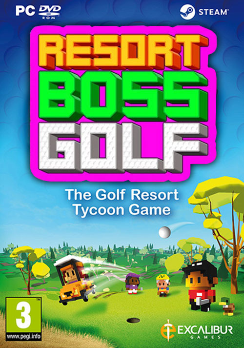 Resort Boss: Golf | Tycoon Management Golf Game - Cover / Packshot