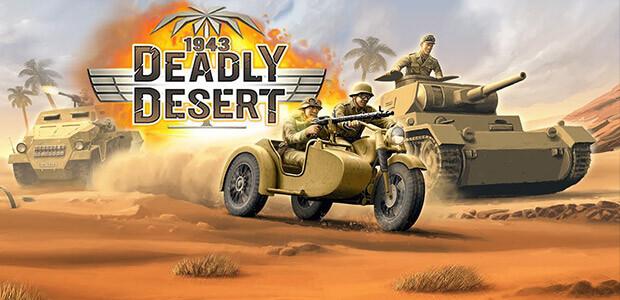 1943 Deadly Desert - Cover / Packshot