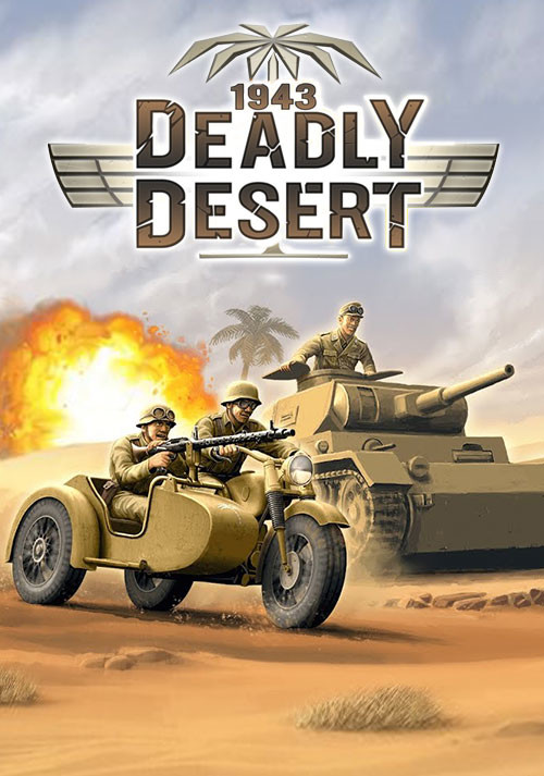 1943 Deadly Desert - Cover / Packshot