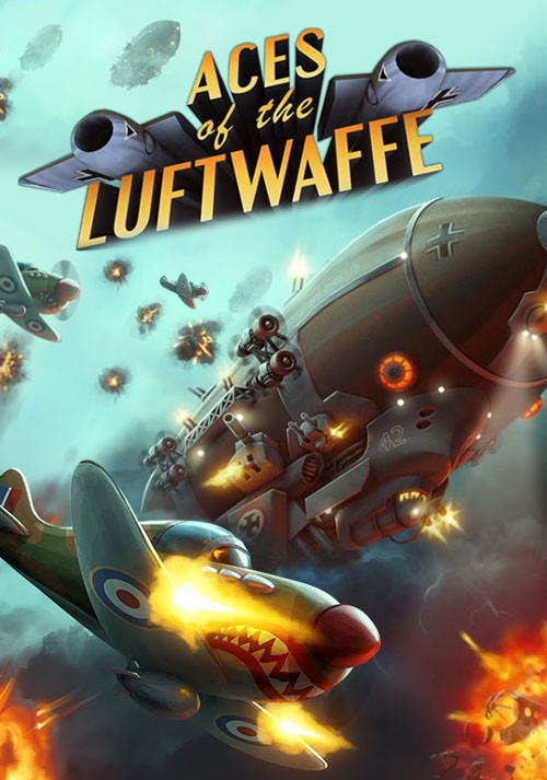 Aces of the Luftwaffe - Cover