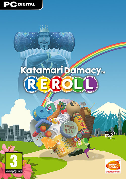 Katamari Damacy Reroll - Cover / Packshot