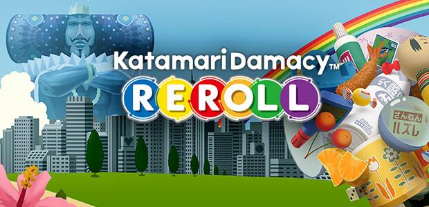 Katamari Damacy Reroll - Cover / Packshot