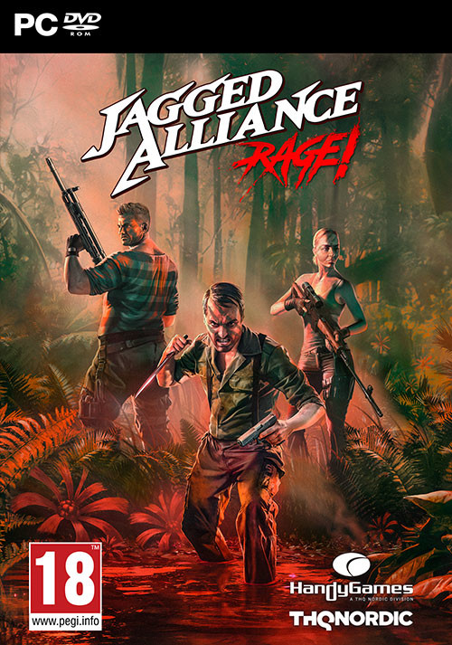 Jagged Alliance: Rage! - Cover