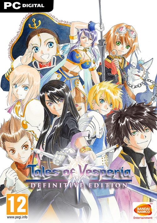 Tales of Vesperia: Definitive Edition - Cover