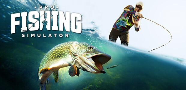 PRO FISHING SIMULATOR - Cover / Packshot