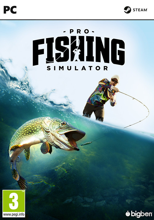 PRO FISHING SIMULATOR - Cover