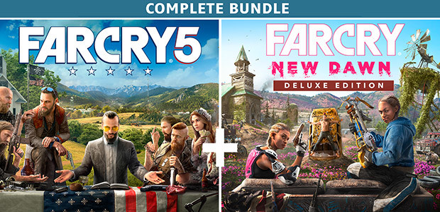 Far Cry 5 + Far Cry New Dawn Deluxe Edition Bundle  - Cover / Packshot