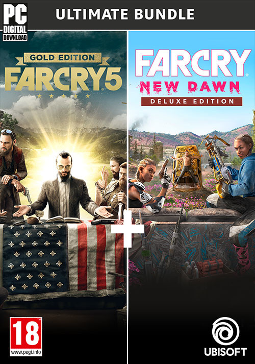 Far Cry 5 Gold Edition + Far Cry New Dawn Deluxe Edition Bundle - Cover / Packshot