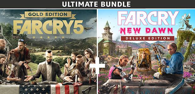 Far Cry 5 Gold Edition + Far Cry New Dawn Deluxe Edition Bundle