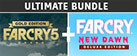 Far Cry 5 Gold Edition + Far Cry New Dawn Deluxe Edition Bundle