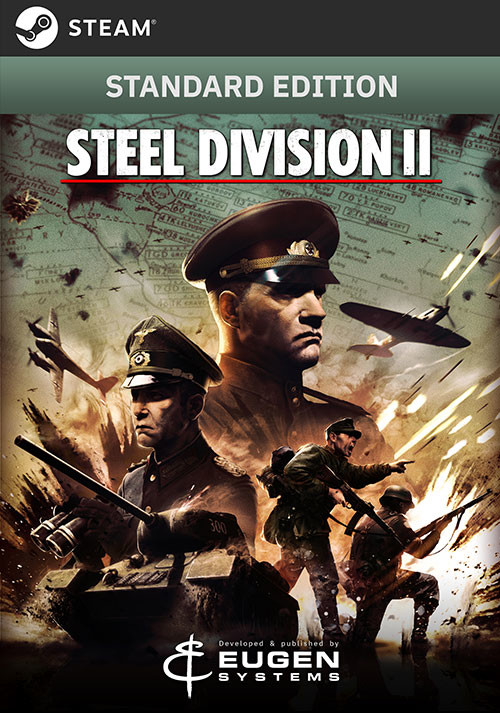 Steel Division 2 - Cover / Packshot