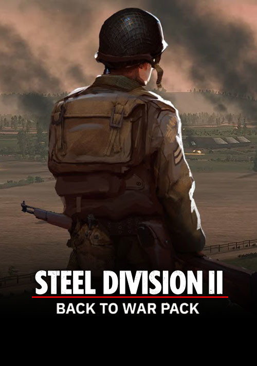 Steel Division 2 - Back To War Pack - Cover / Packshot