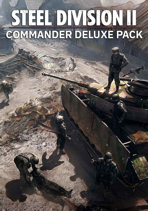 Steel Division 2 - Commander Deluxe Pack (GOG) - Cover / Packshot