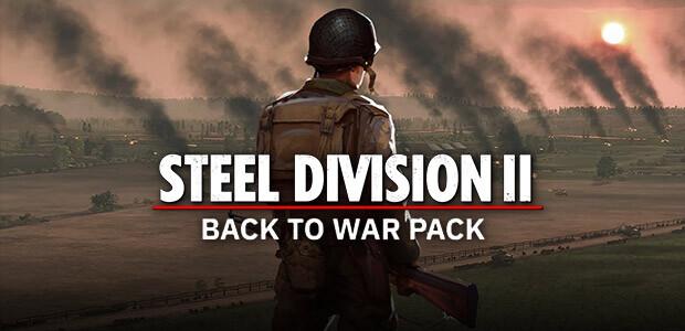 Steel Division 2 - Back To War Pack (GOG) - Cover / Packshot