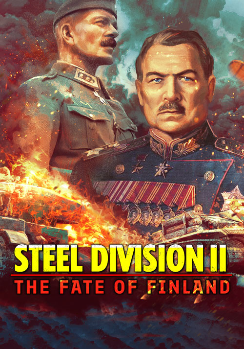 Steel Division 2 - The Fate of Finland - Cover / Packshot