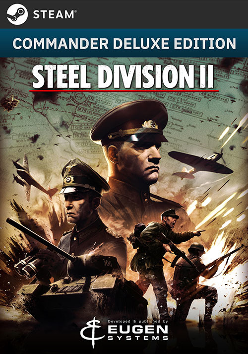 Steel Division 2 - Commander Deluxe Edition  - Cover