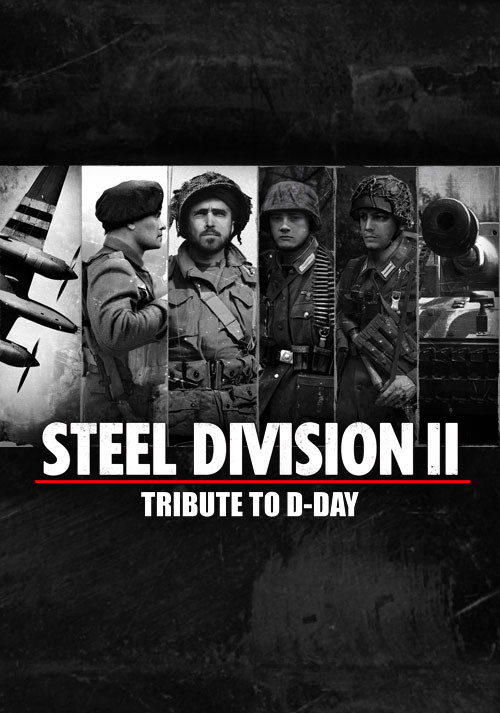 Steel Division 2 - Tribute to D-Day Pack - Cover / Packshot