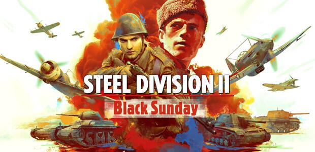 Steel Division 2 - Black Sunday - Cover / Packshot