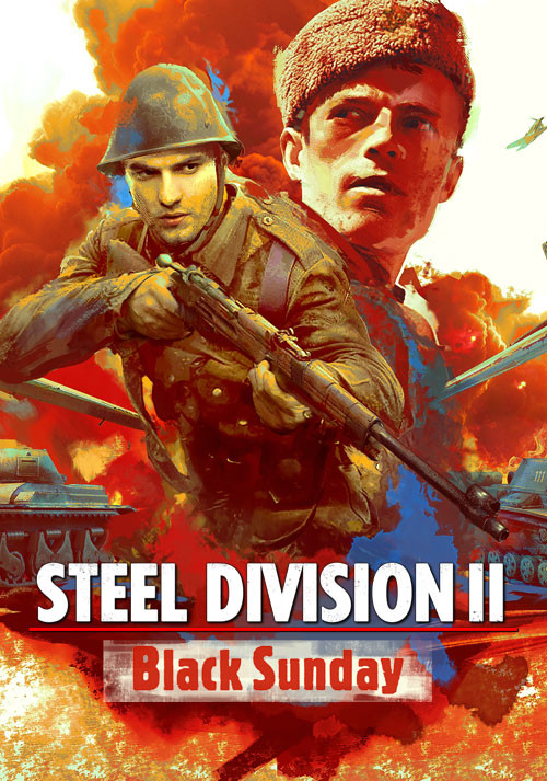 Steel Division 2 - Black Sunday (GOG) - Cover / Packshot