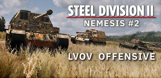Steel Division 2 - Nemesis #2 - Lvov Offensive - Cover / Packshot