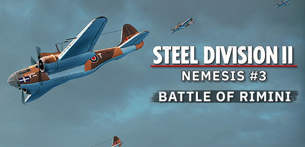 Steel Division 2 - Nemesis #3 - Battle of Rimini - Cover / Packshot