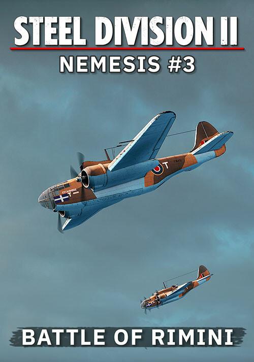 Steel Division 2 - Nemesis #3 - Battle of Rimini (GOG) - Cover / Packshot