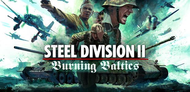 Steel Division 2 - Burning Baltics - Cover / Packshot
