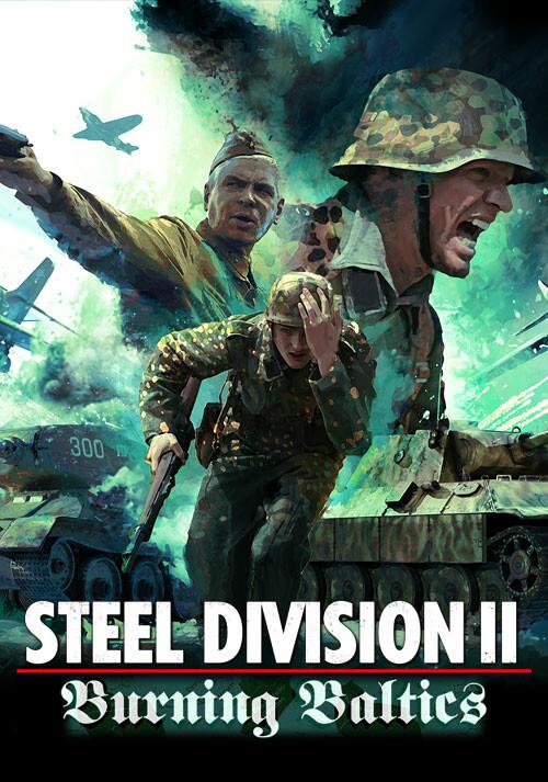 Steel Division 2 - Burning Baltics (GOG) - Cover / Packshot