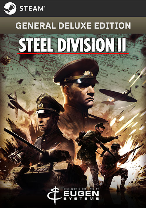 Steel Division 2 - General Deluxe Edition - Cover / Packshot