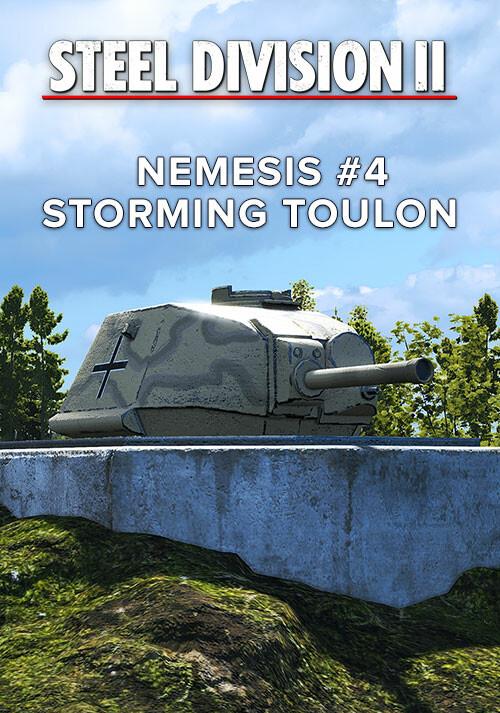 Steel Division 2 - Nemesis #4 - Storming Toulon - Cover / Packshot