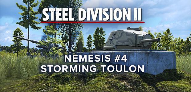 Steel Division 2 - Nemesis #4 - Storming Toulon (GOG) - Cover / Packshot