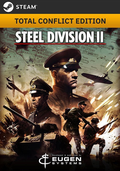Steel Division 2 - Total Conflict Edition - Cover
