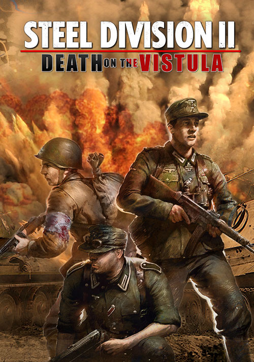 Steel Division 2 - Death on the Vistula - Cover / Packshot