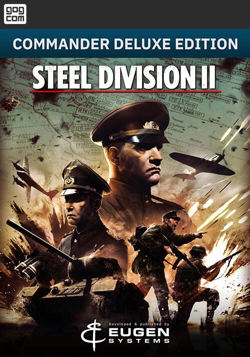 Steel Division 2 - Commander Deluxe Edition (GOG) - Cover / Packshot