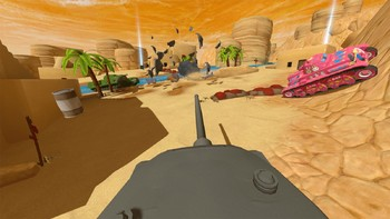 Screenshot2 - Panzer Panic VR