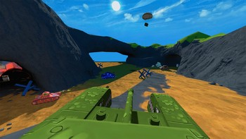 Screenshot1 - Panzer Panic VR