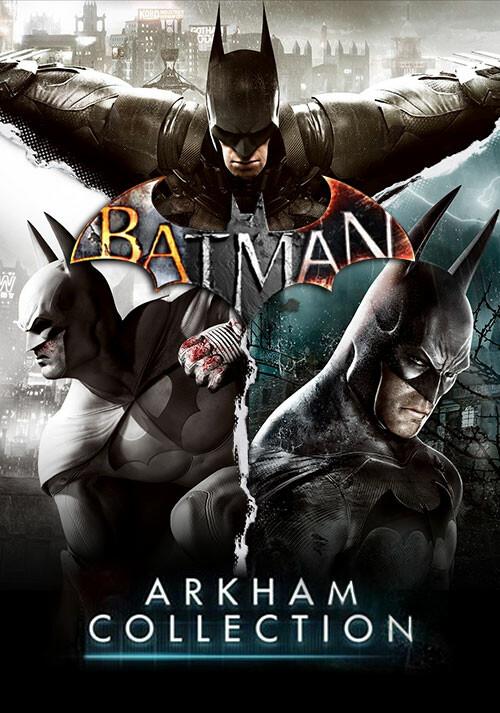 Batman: Arkham Collection - Cover / Packshot
