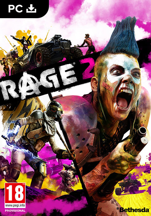 RAGE 2 - Cover