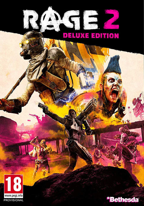 RAGE 2 - Deluxe Edition - Cover / Packshot