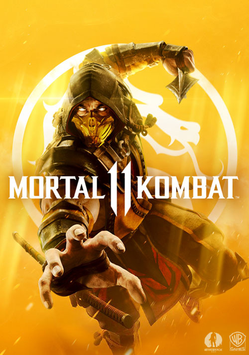 Mortal Kombat 11 - Cover