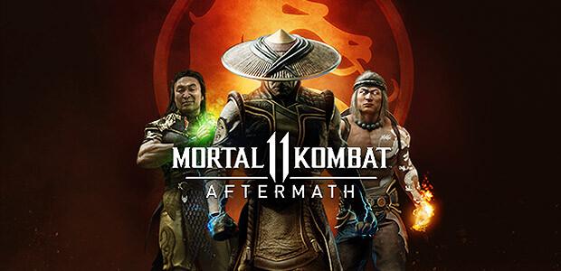 Mortal Kombat 11: Aftermath - Cover / Packshot