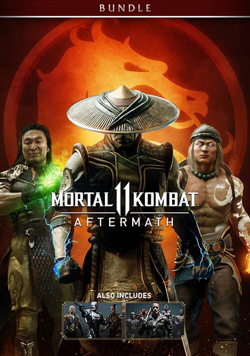 Mortal Kombat 11: Aftermath + Kombat Pack Bundle - Cover / Packshot