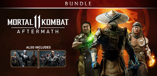 Mortal Kombat 11: Aftermath + Kombat Pack Bundle - Cover / Packshot