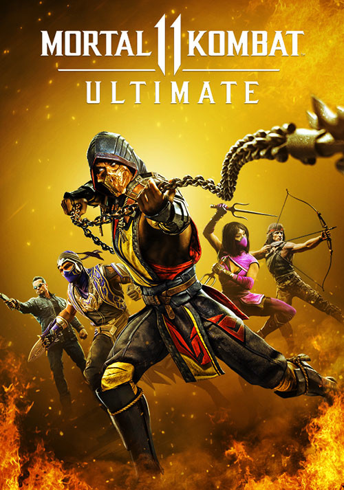 Mortal Kombat 11 Ultimate Edition - Cover / Packshot