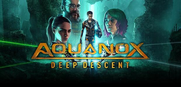 Aquanox Deep Descent - Cover / Packshot